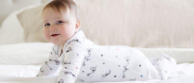 Baby Side Snap Long Sleeve Top anais Baby Girl Long Sleeve Kimono Shirt Newborn /& Infant Polka Dot Tee Shirt Aden by aden Super Soft Cotton Muslin Kimono Top