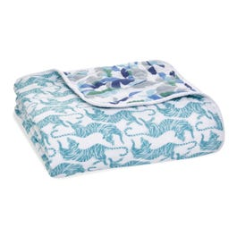 Cotton Muslin Baby Blankets Dancing Tigers Aden Anais
