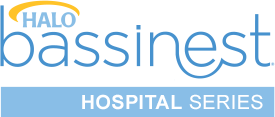 halo bassinest hospital series logo