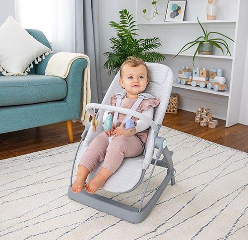 baby bouncer + rocker + seat