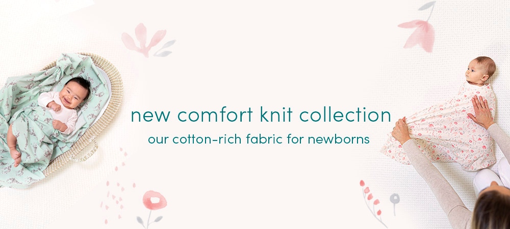 New comfort knit collection - Aden and Anais