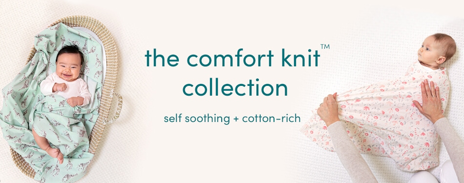 Informative banner - comfort knit collection