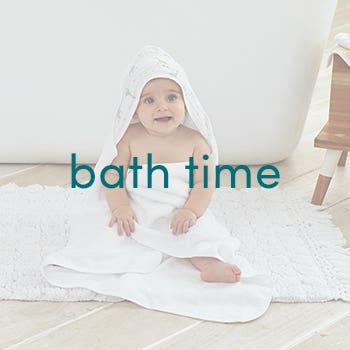 Baby bath time - Aden and Anais
