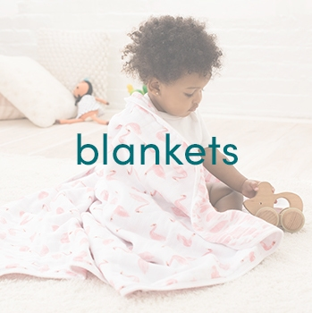 Block blankets for babies - Aden and Anais