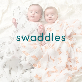 Block swaddles for babies - Aden and Anais