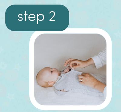 how to snug swrap swaddle 2