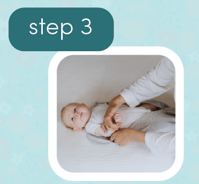 how to snug swrap swaddle 3