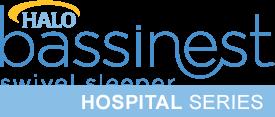 halo bassinest hospital series logo