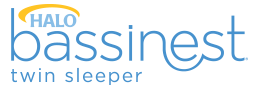 halo bassinest twin sleeper logo